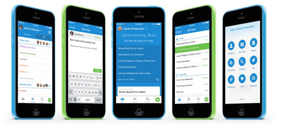 Asana iPhone-app