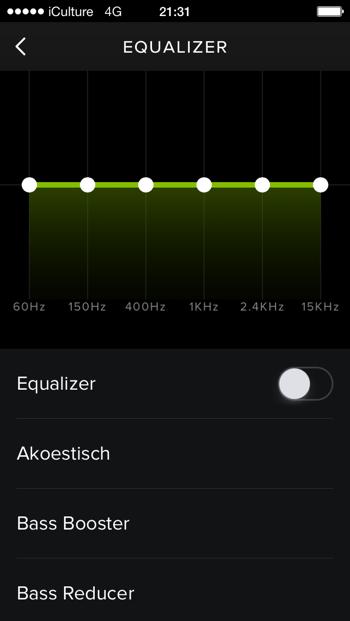 spotify equalizer ios app
