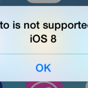 iphoto not supported