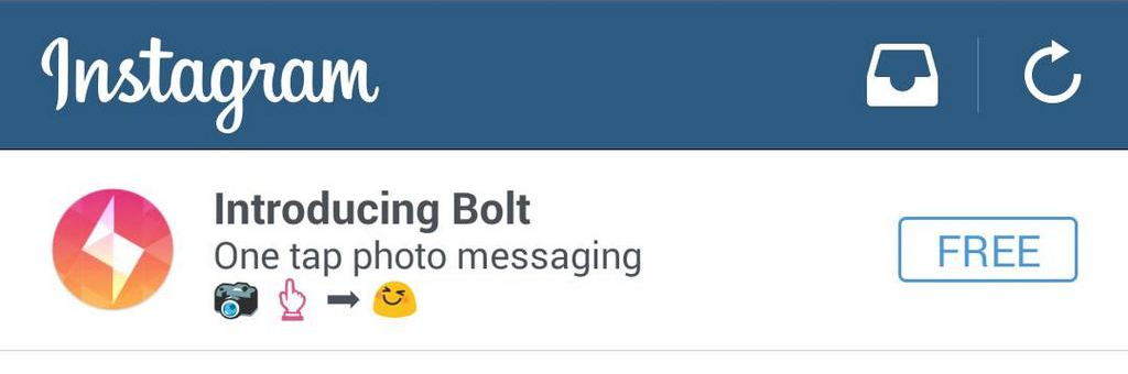 Instagram Bolt