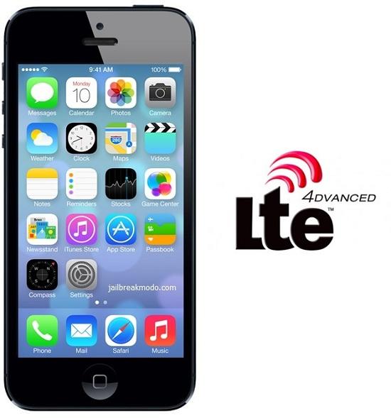 iOS 7 lte