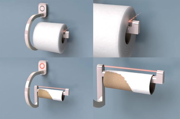 rollscout toiletrolhouder