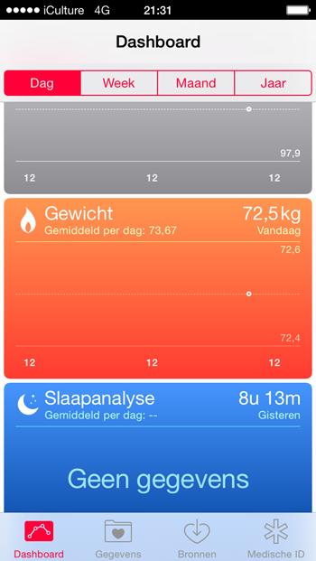 gezondheid-app-dashboard-gevuld
