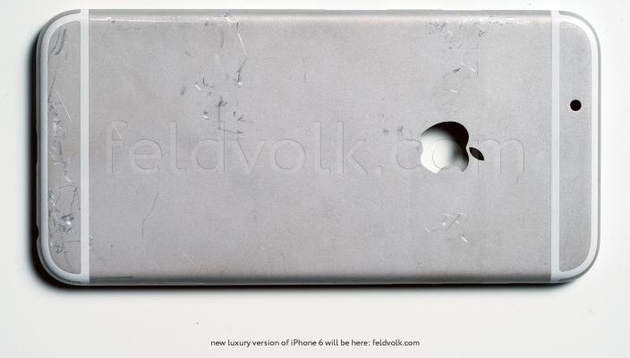 iPhone 6 achterkant feldvolk