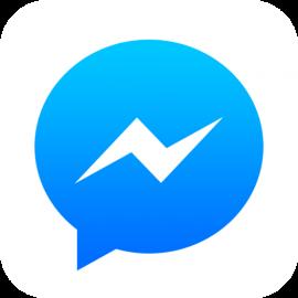 facebook messenger icoon groot