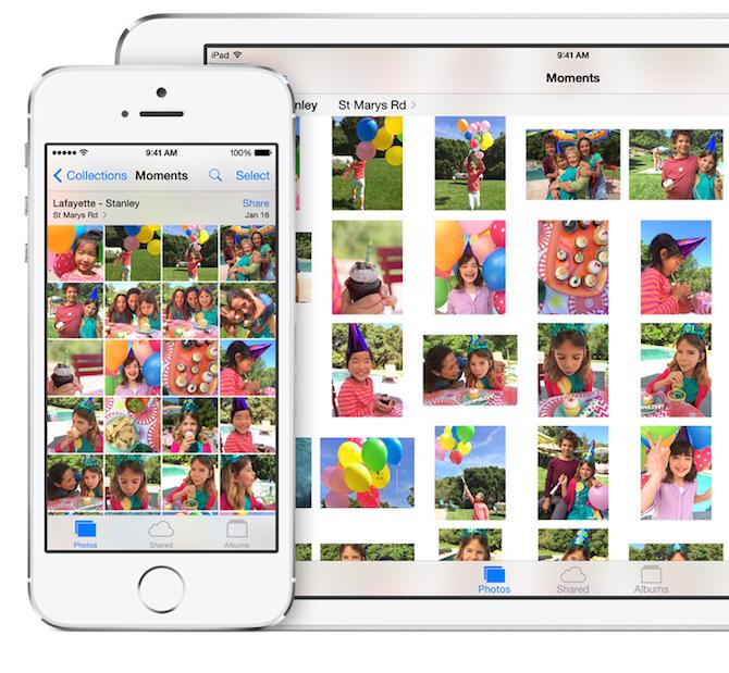 iPhone iPad photo app