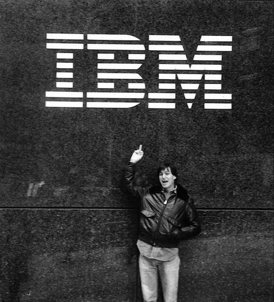 Steve Jobs en IBM