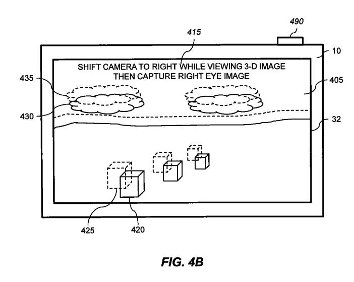 Patent 3D-foto iPhone