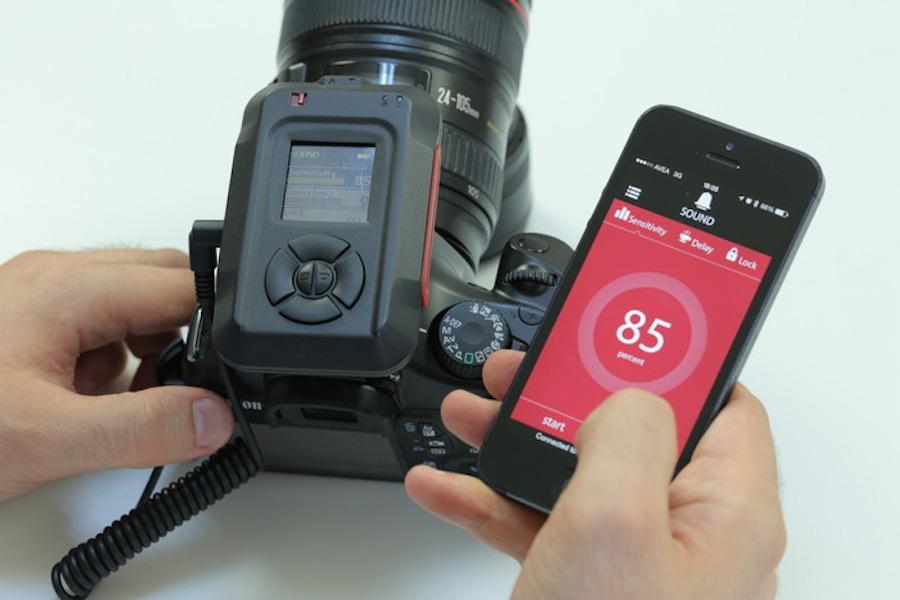 MIOPS DSLR sensor iOS