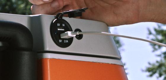 Coolest Cooler koelbox usb-aansluiting