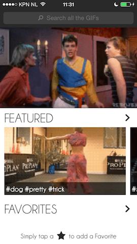 GIF GIF GIF hoofdpagina