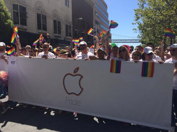 Pride-parade San Francisco