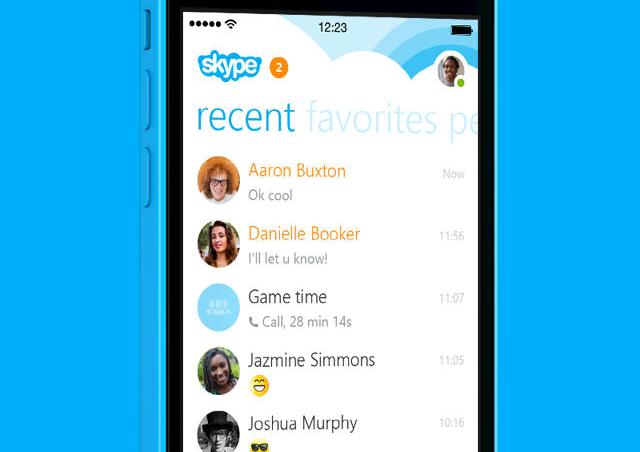 Skype 5.2 heeft weer vociemails iPhone