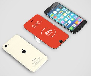 iphone 6 pro rood wit