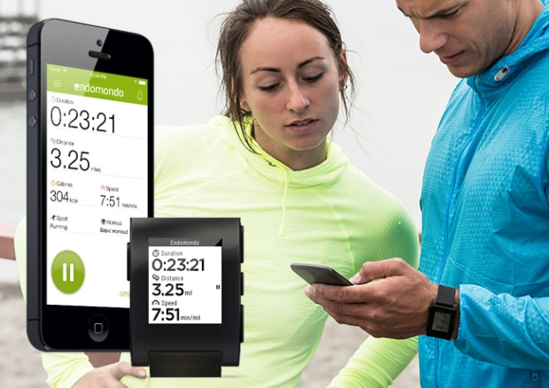Endomondo Sports iPhone en Pebble