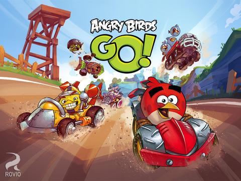 Angry Birds Go iPad header