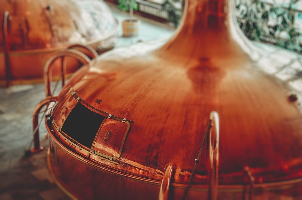 Bierbrouwerij-ketel