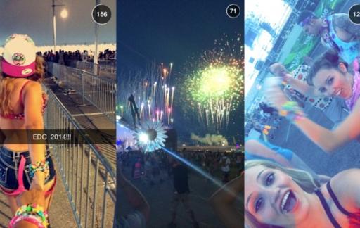 Snapchat användare online nu