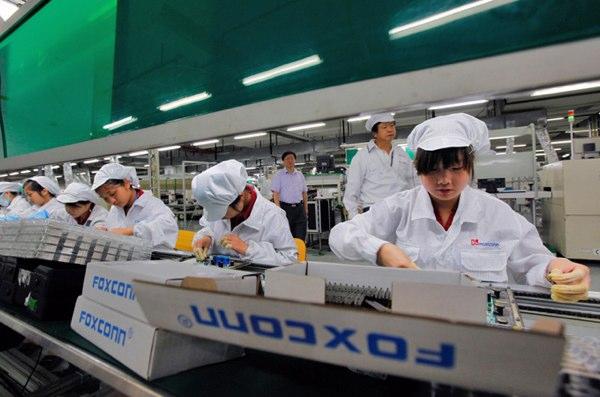 foxconn fabrieken