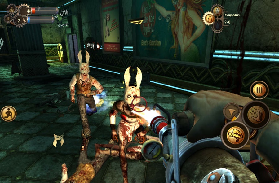 Bioshock iPad iPhone gameplay