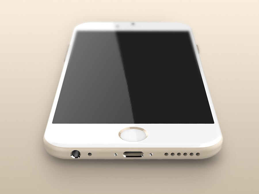 iphone 6 render onderkant