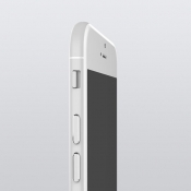iphone 6 render zijkant wit
