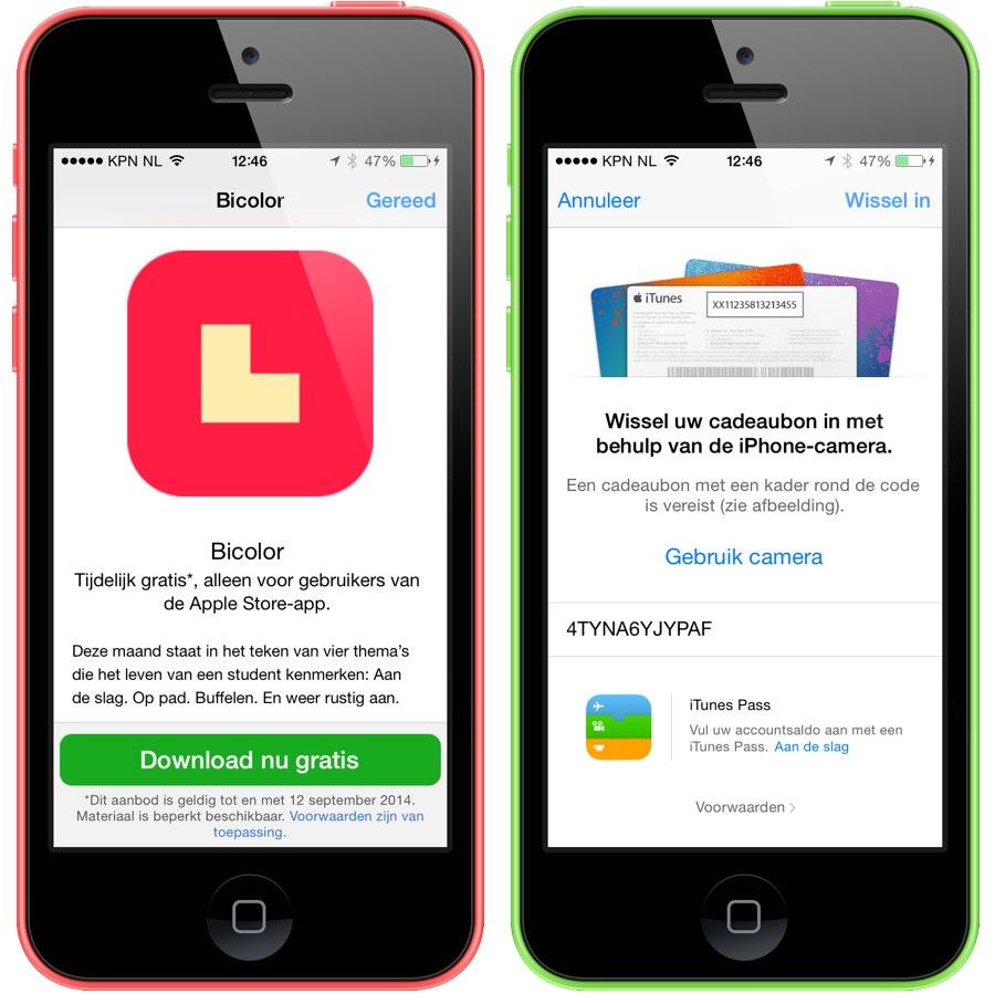 bicolor app store app