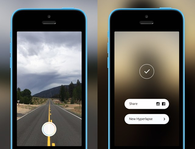 hyperlapse iphone screenshots