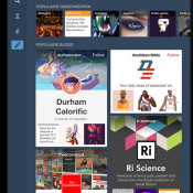 Tumblr iPad iPhone nieuwe blogdesigns