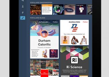 Tumblr iPad iPhone nieuwe blogdesigns