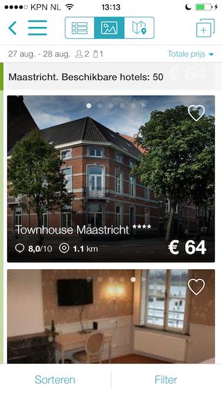 Skyscanner Hotels foto's Maastricht