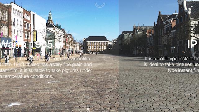Hazed fotofilter app Vismarkt kleuren