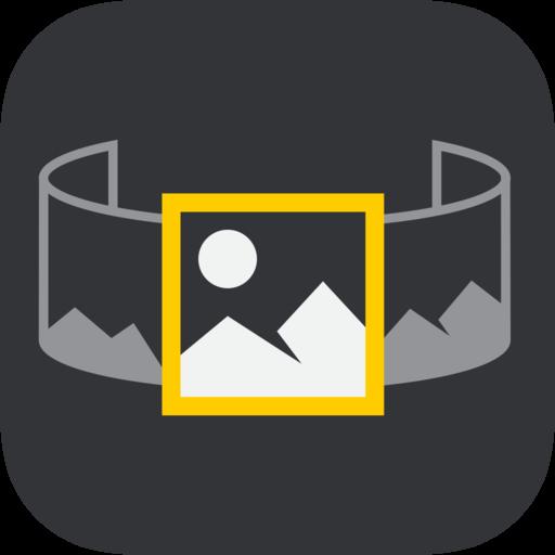 Instapan panoramafoto's op Instagram iOS
