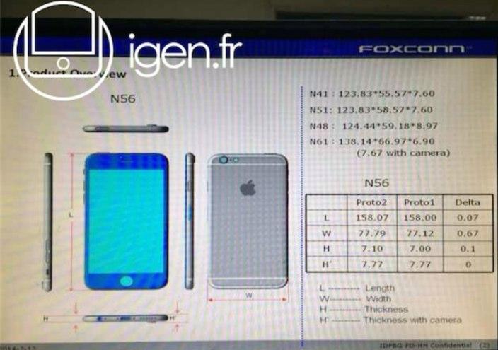 iphone 6 igen n56 prototypes
