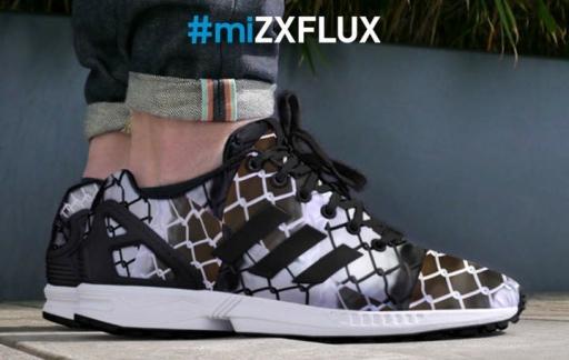 Adidas sneaker miZX Flux maken