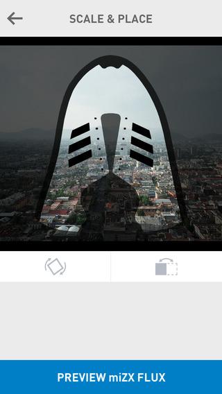 miZX Flux afbeelding inladen