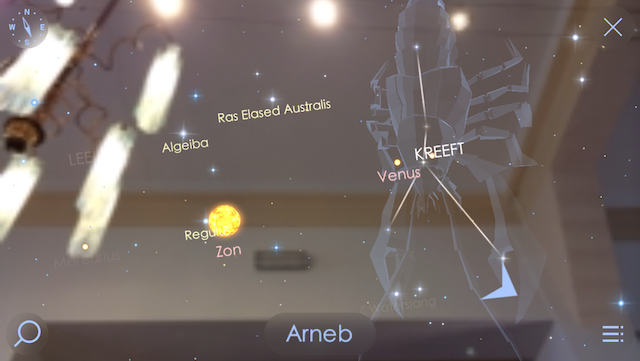 Star Walk 2 augmented reality iOS