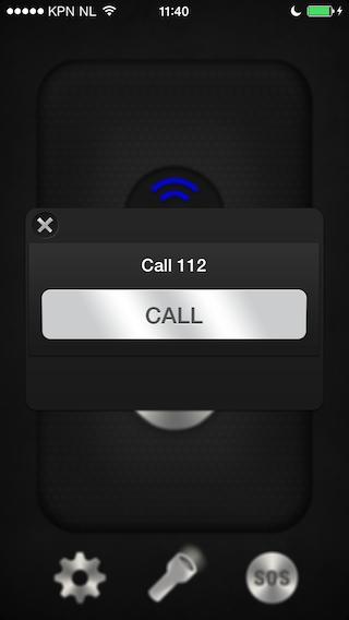 Panik alarmnummer bellen iPhone