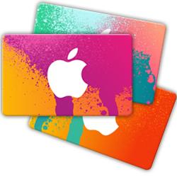 iTunes cadeaukaarten 2014