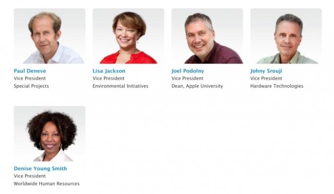 apple executive team