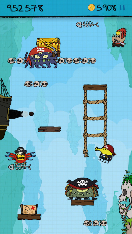 Doodle Jump Pirates 2
