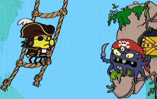 Doodle Jump piraten