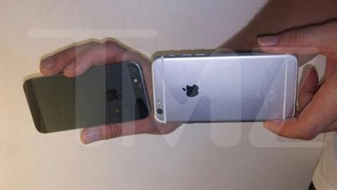 iPhone 6 naast iPhone 5