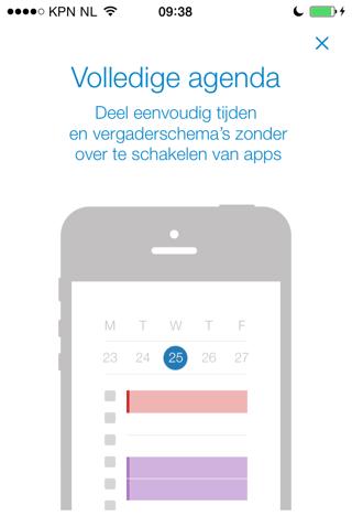Acompli Nederlandstalig iPhone app