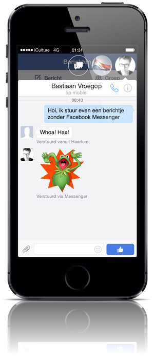 facebook-messenger-zonder-messenger