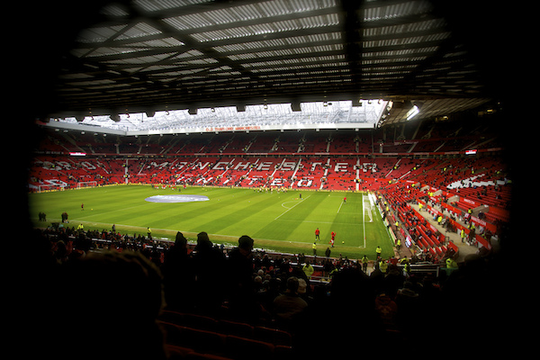 manchester united stadion