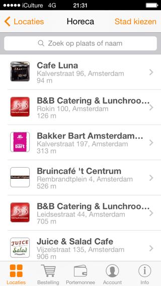 myorder oude app lijstje
