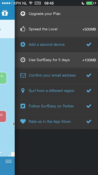 SurfEasy VPN extra's krijgen