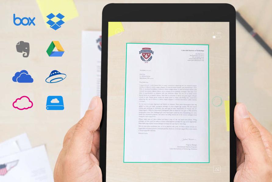Scanbot papier inscannen iPhone iPad