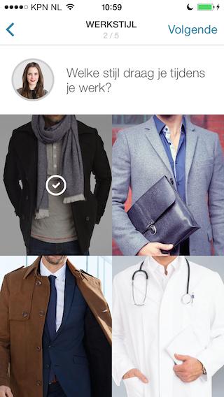 Outfittery kies je kledingstijl